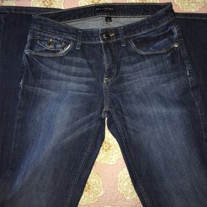Banana Republic bootcut denim